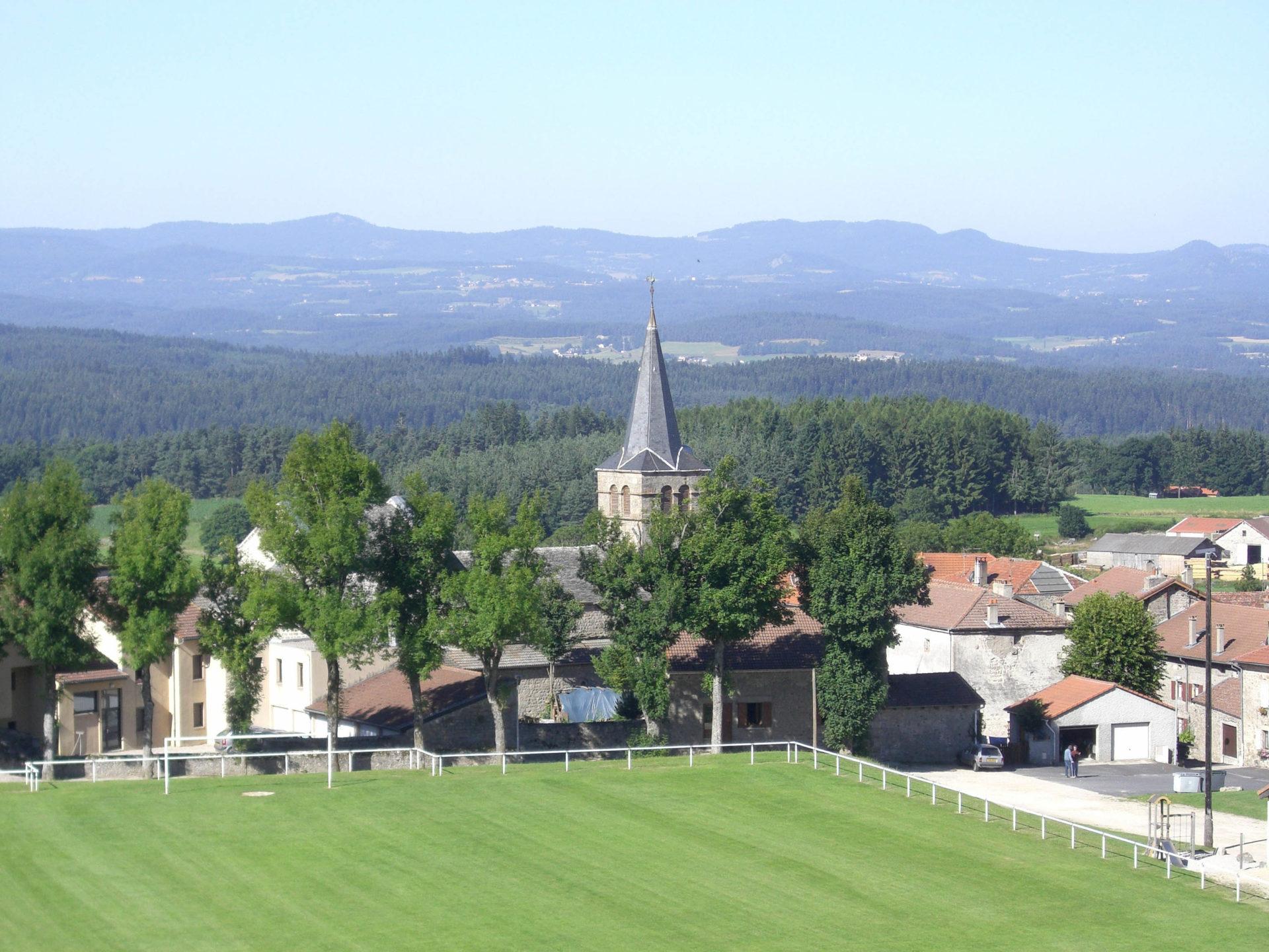 Église et clocher de Montregard